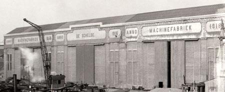 De machinefabriek op 17 maart 1923