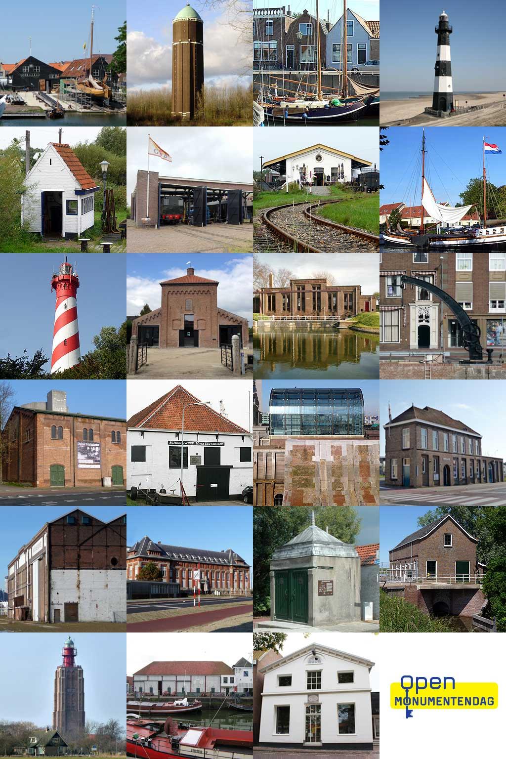 Industrieel Erfgoed op Open Monumentendag in Zeeland