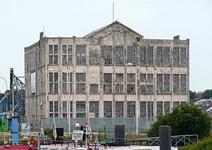 Timmerfabriek De Schelde aan de Koningsweg, Vlissingen, noordzijde