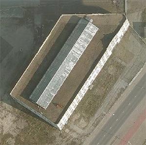 Timmerfabriek De Schelde aan de Koningsweg, Vlissingen, bovenzijde