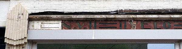 Letters N.V. Velo Waschmachine Mij., links