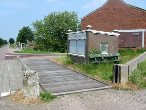 Weegbrug Haven Sint Philipsland