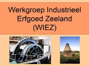 Titelpagina van de WIEZ-powerpoint-presentatie